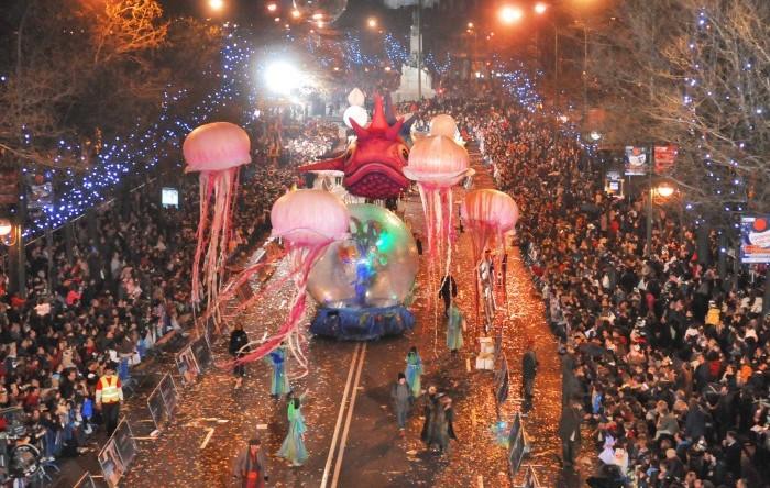 Cabalgata de Reyes Magos en Madrid