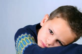 Es posible la depresión en los niños pequeños