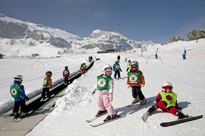 Estación de esquípara niños Candanchú, en Huesca