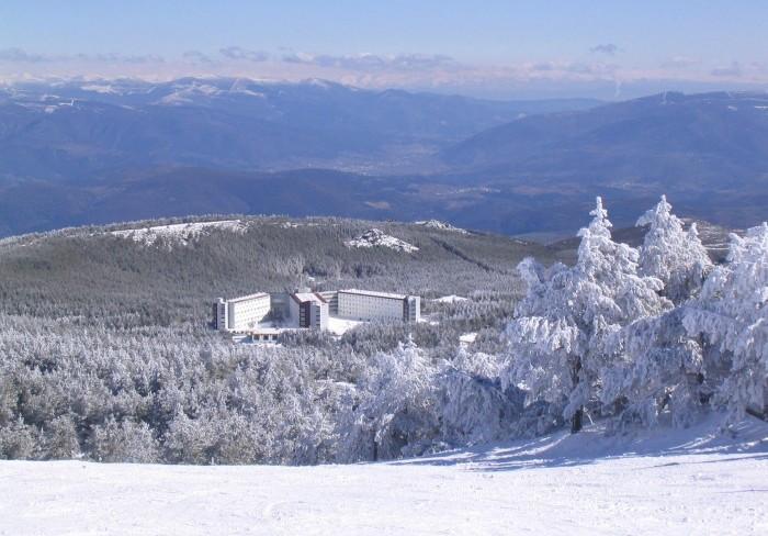 Estación de esquí deMontaña Manzaneda, en Galicia