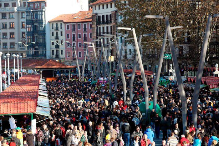 Feria de Santo Tomás, en Bilbao