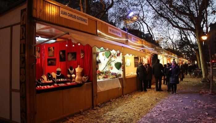 Feria de Reyes de la Gran Vía - Mercadillo de Navidad en Barcelona