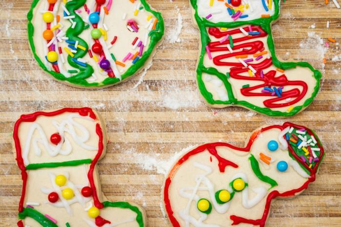 Galletas clásicas decoradas - Recetas Navidad niños