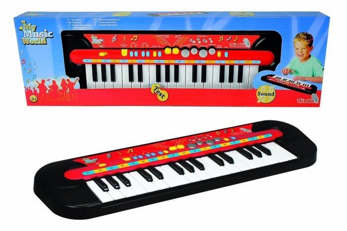 Instrumento musical infantil Teclado Simba