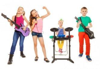 Instrumentos musicales infantiles para niños