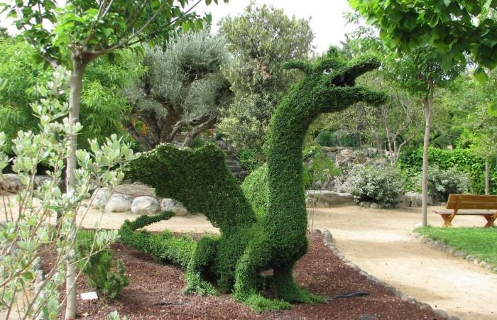 Excursión al Jardín botánico y parque temático El Bosque Encantado, en San Martín de Valdeiglesias, Madrid