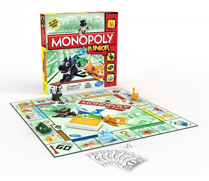 Juego de mesa para niñosMonopoly Junior