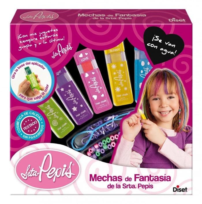 Juguete de maquillaje Mechas fantasía Srta Pepis