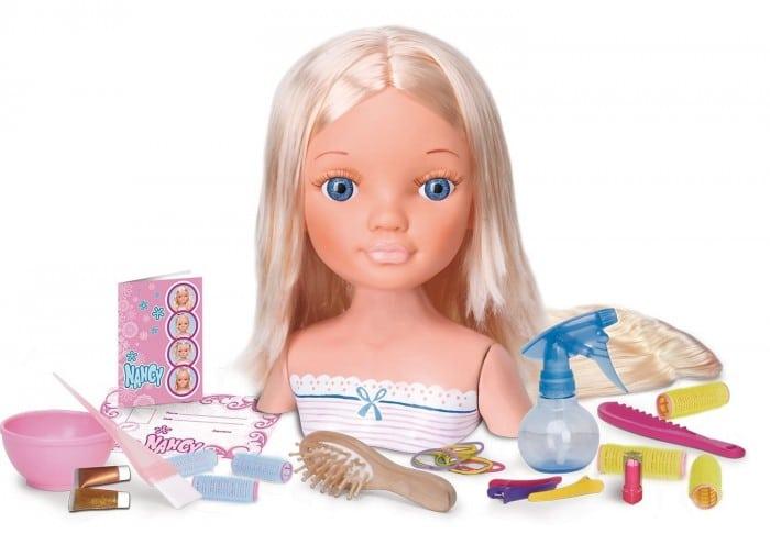 Juguete de maquillaje Nancy, escuela de peluquería