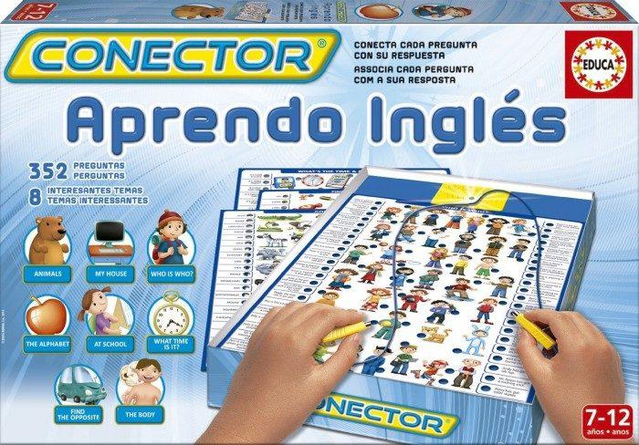 Juguetes didácticos para niños Conector Aprendo Inglés