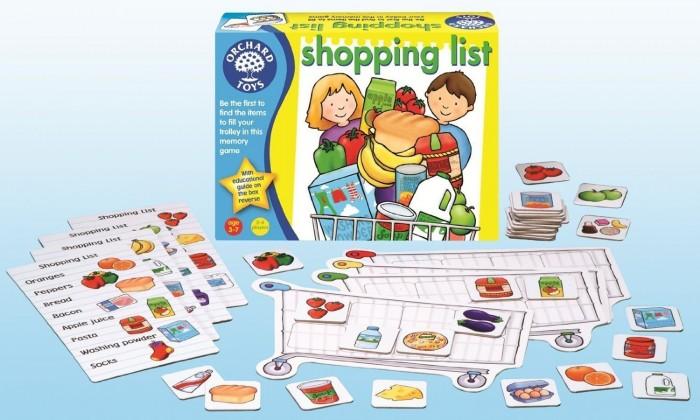 Juguete educativo La lista de compra