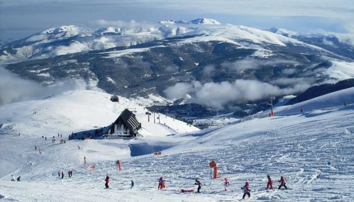 Estación de esquí La Molina, en Girona