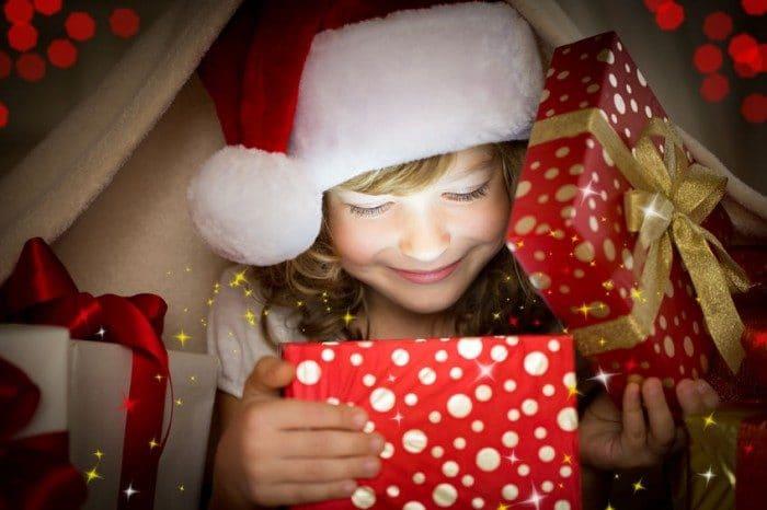 Regla cuatro regalos Navidad