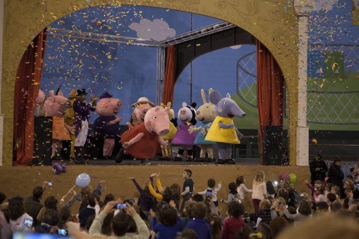 Peppa Pig en el Festival de la Infancia de Barcelona