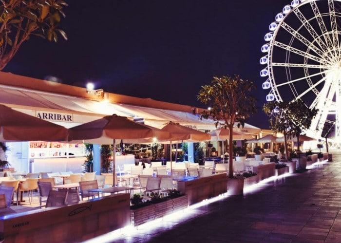 Restaurante Arribar, en Valencia