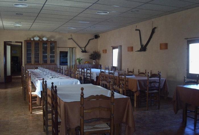 Restaurante Les Arades, enVilabella,Tarragona
