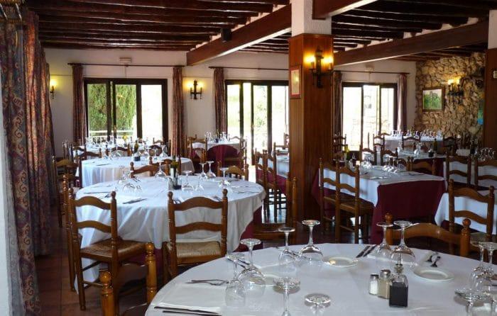 Restaurante Les Piques, en Olivella, Barcelona