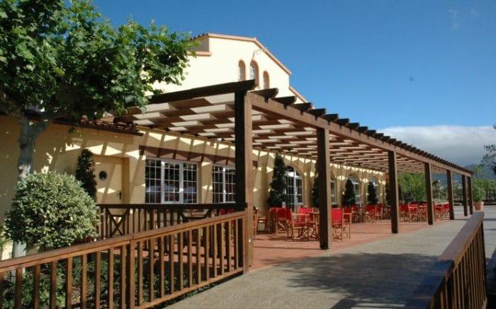 Restaurante Masia del Pla, en El Pla de Santa Maria, Tarragona