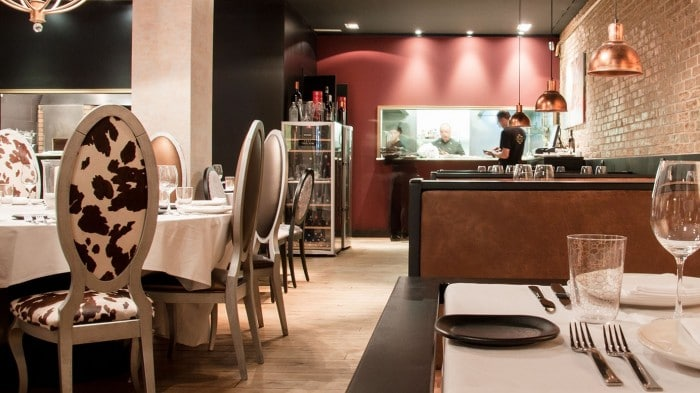 RestauranteMilo Grill, en Barcelona