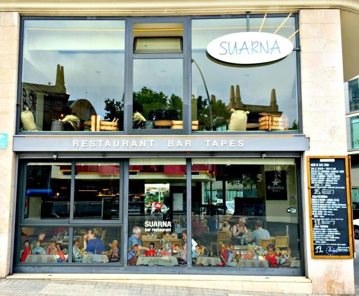 RestauranteSuarna, en Barcelona, Cataluña