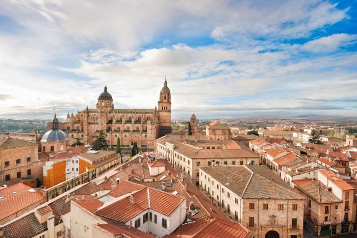 Salamanca, región de Castilla y León
