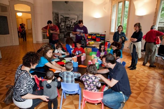 Talleres infantiles enLa Pedrera, en Barcelona