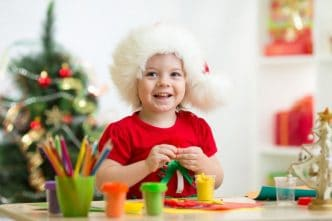 Manualidades navideñas con rollos de papel higiénico
