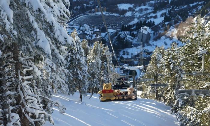 Estación de esquípara niños Baqueira Beret, en Lleida