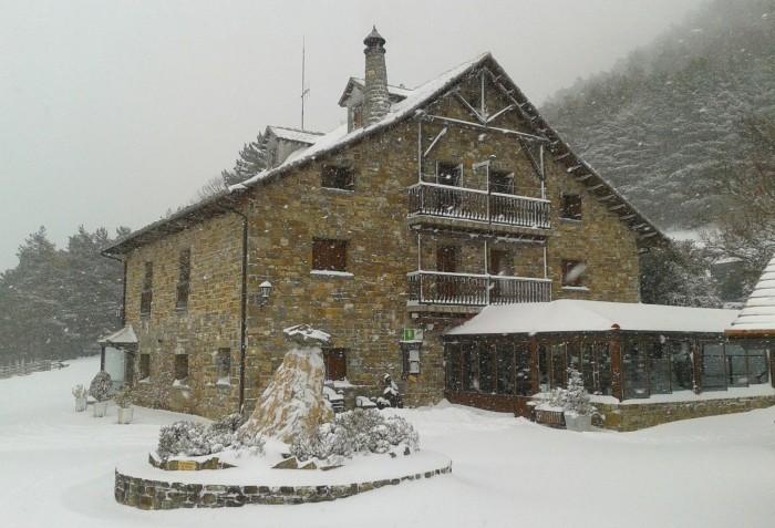 Borda Bisaltico, en Huesca