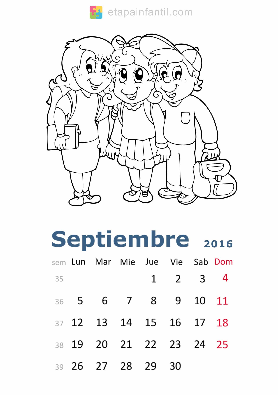 Colorear-Septiembre-2016-Calendario-para-imprimir-y-colorear - Etapa ...