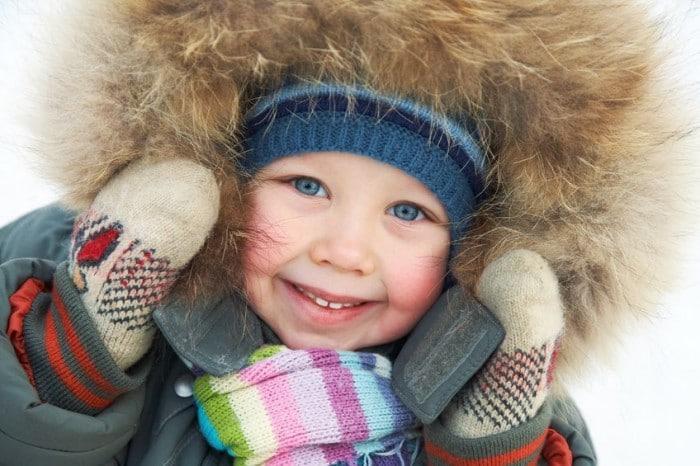 Consejos para que los niños no pasen frío en la nieve