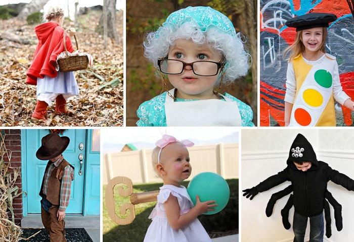 10 disfraces caseros para ni os y ni as etapa infantil - Disfraces para bebes de un ano ...
