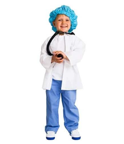 Disfraz casero de doctor