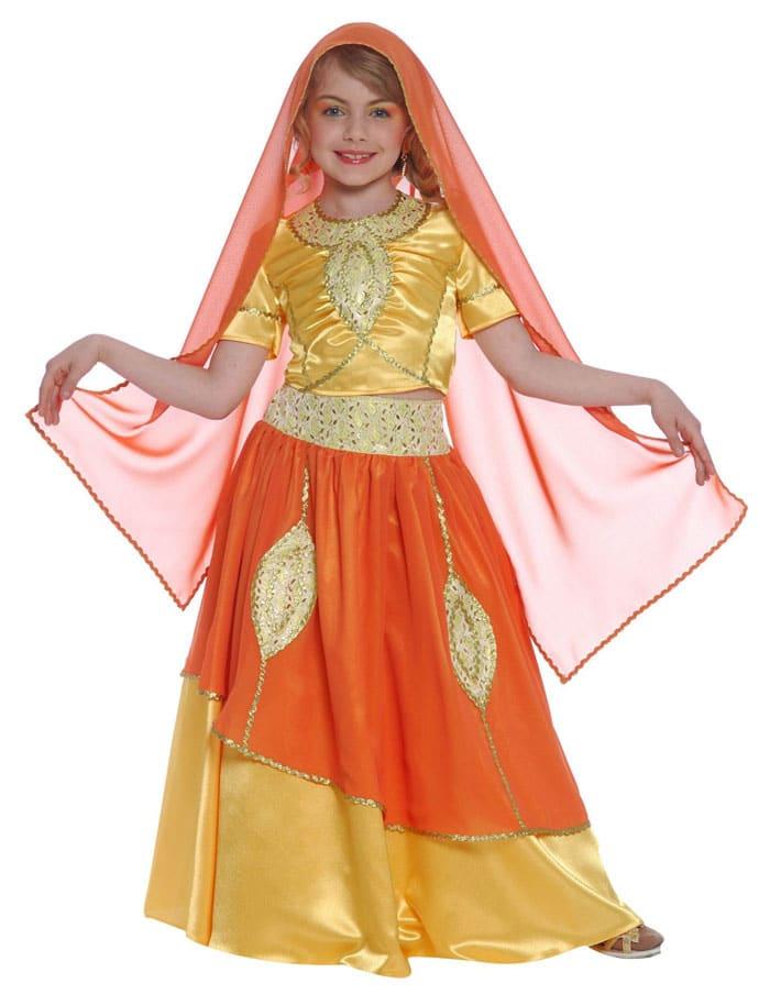 Disfraz infantil Princesa Bollywood