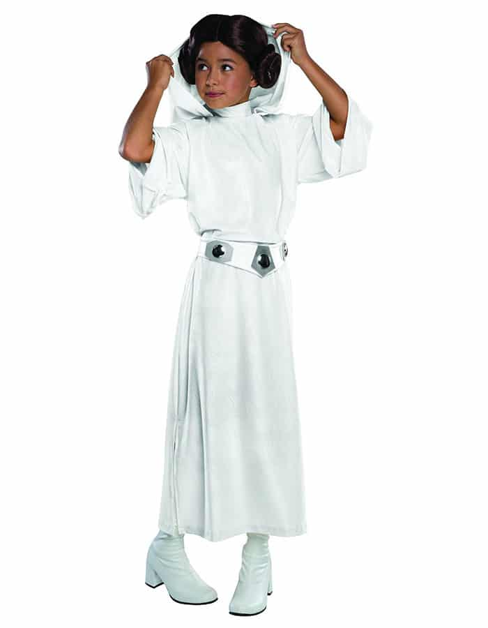 Disfraz infantil Princesa Leia Star Wars