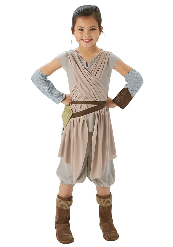 Disfraz infantil Rey, de Star Wars