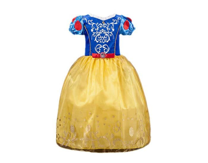 Disfraz infantil Vestido de Blancanieves