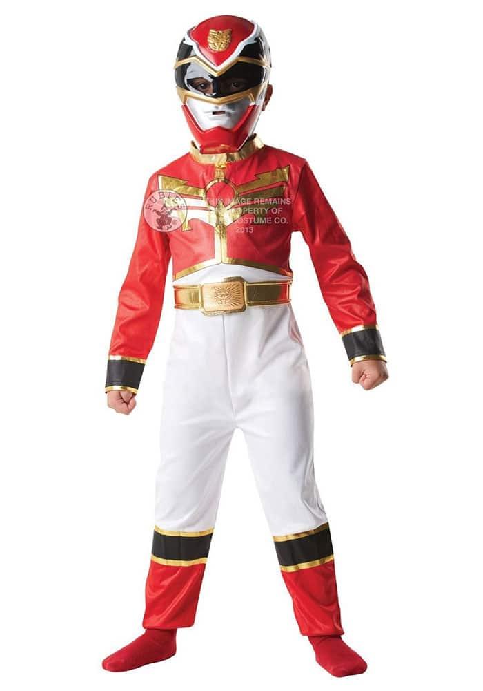 Disfraz infantil de Red Ranger (Power Rangers)