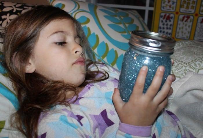 Frasco de la calma Montessori