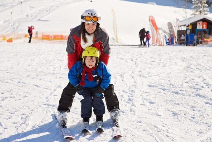 Escapada a la nieve con niños