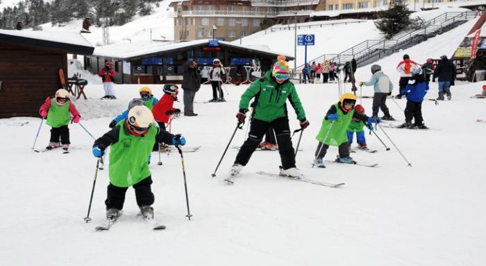 Estación de esquí Astún, en el Pirineo Aragonés