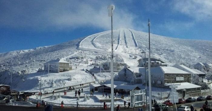 Estación de esquí Navacerrada, en Madrid