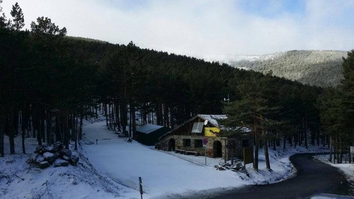 Estación de esquí Puerto de Navafría