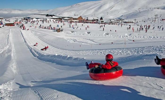 Estación de esquípara niños Sierra Nevada, en Granada