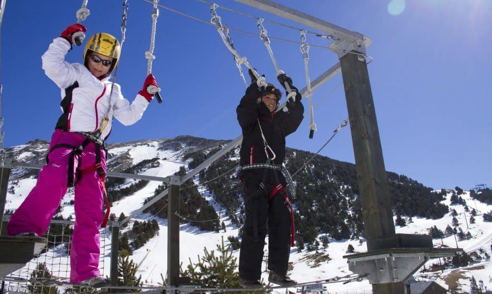 Estación de esquí Vall de Núria, en Queralbs, Girona
