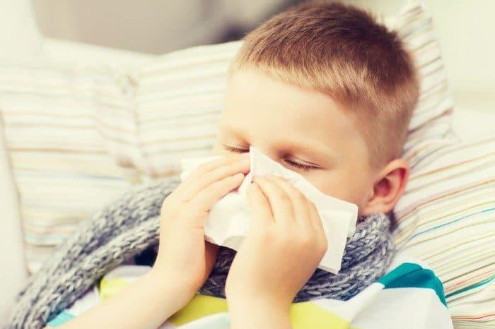 Evitar resfriados infantiles