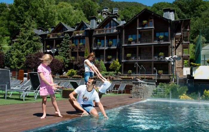 AnyosPark Hotel Wellness Resort, en Anyós, Andorra (Pirineos)