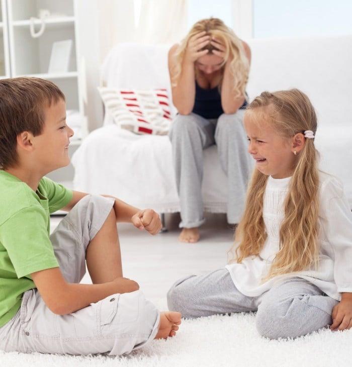 Los hijos se portan peor con las madres