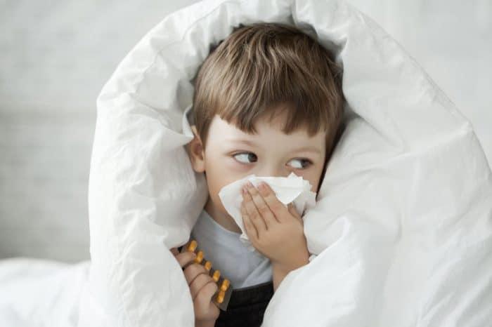 Prevenir resfriados en bebés y niños