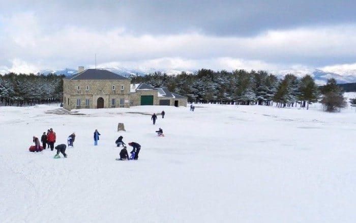 Ir a la nieve en Madrid